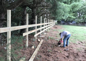 3 Board Horse Fence