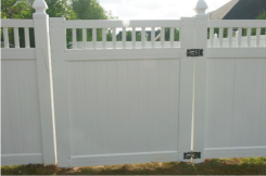 Colorado Semi-Private Style Fence