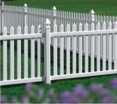 Georgia Style Picket Fence