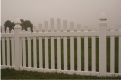 New England Style Picket Fence