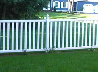 Virginia Style Picket Fence