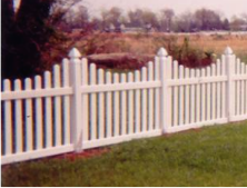 Washington Style Picket Fence